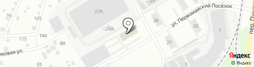 Банкомат, Газпромбанк на карте Берёзовского
