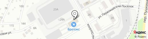 РИЗН на карте Берёзовского
