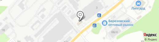БСУ на карте Берёзовского