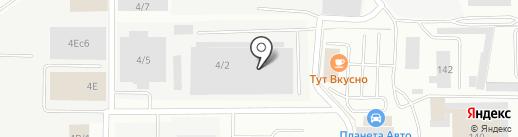 МегаПолюс на карте Берёзовского