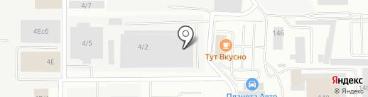 ТАРУНА-МЕБЕЛЬ на карте Берёзовского