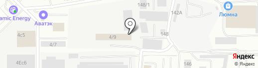 Плеяда на карте Берёзовского