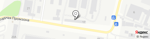 Свердловскавтодор на карте Берёзовского