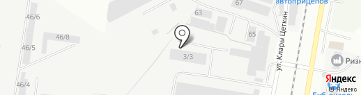 Domotex на карте Берёзовского