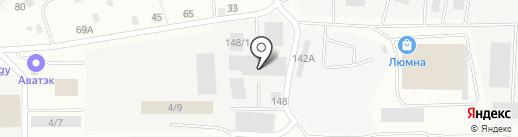 АРС-ПромЕК на карте Берёзовского
