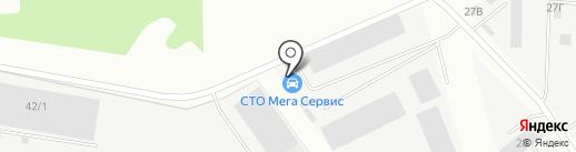 СКАвто на карте Берёзовского