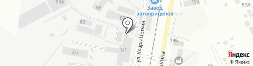 Бизнес Машинери Групп на карте Берёзовского