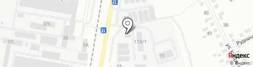 Березовскстройинвест на карте Берёзовского