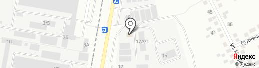 ГидроУрал на карте Берёзовского
