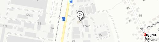 ГостСпецСтрой на карте Берёзовского