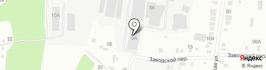 Диабетический вестник на карте Берёзовского