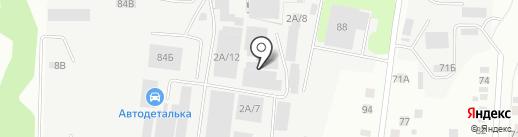 Барс на карте Берёзовского