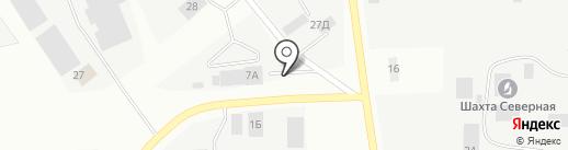 Гидроспецмонтаж на карте Берёзовского
