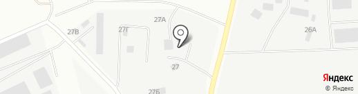 Автостоянка на ул. Ленинский пос на карте Берёзовского