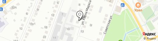 УралПластОкно на карте Берёзовского