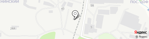 М-Бетон на карте Берёзовского