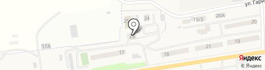 Звезда на карте Арамиля