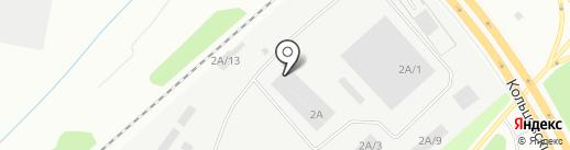 Стройден на карте Екатеринбурга