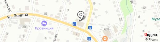 Сеть магазинов обуви на карте Берёзовского