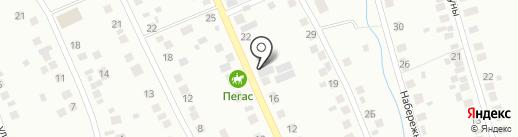 Цветочный магазин на карте Берёзовского