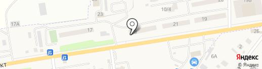 ЭЙВА на карте Арамиля