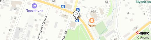 Comepay на карте Берёзовского