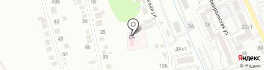 Ветеринарная станция на Пролетарской на карте Берёзовского