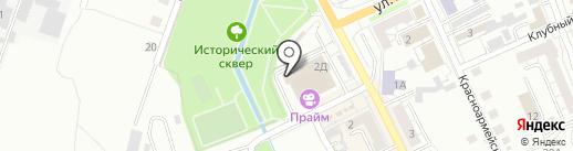 МИР TV на карте Берёзовского