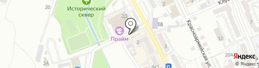 Здорово на карте Берёзовского