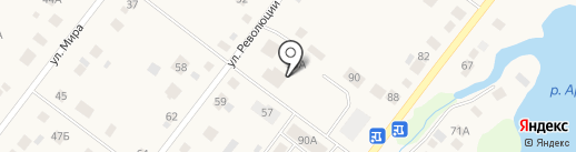 Отделение общей врачебной практики на карте Патруш