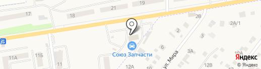 Магазин авточехлов на карте Арамиля