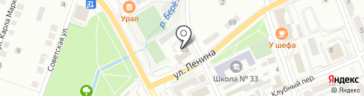 Каролина на карте Берёзовского