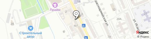 Ольга на карте Берёзовского