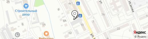 Банкомат, Уральский банк реконструкции и развития на карте Берёзовского