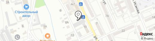 Легострой на карте Берёзовского