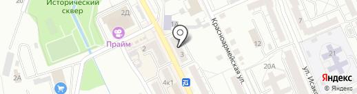 Алмаз на карте Берёзовского