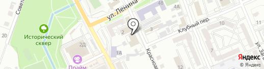 ВСК, С на карте Берёзовского
