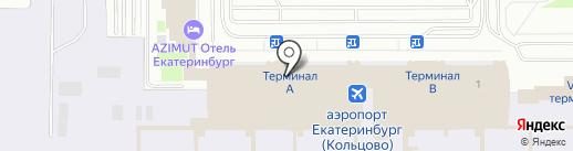 Глобал Эксчейндж на карте Екатеринбурга