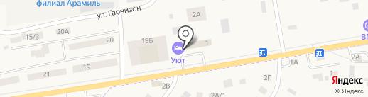 Причал на карте Арамиля