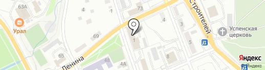 Энергосервис-Ек на карте Берёзовского