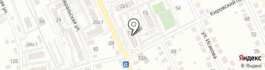 Шумаков А.Н. на карте Берёзовского