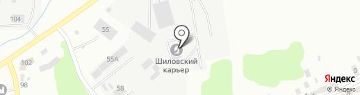 Росомаха на карте Берёзовского