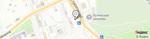 Салон ритуальных услуг на ул. Загвозкина на карте Берёзовского