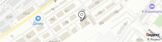 Дженни на карте Екатеринбурга