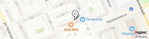 Альянс и К на карте Берёзовского