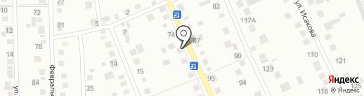 Шиномонтажная мастерская на карте Берёзовского