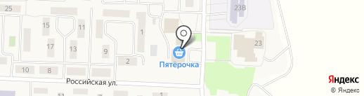 Красотка на карте Патруш