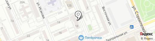 Соня-Засоня на карте Берёзовского