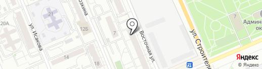 прокатУкота на карте Берёзовского