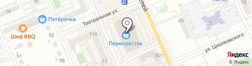 РАЙТ на карте Берёзовского